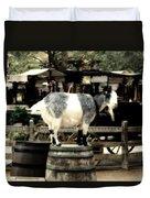 Billy Goat Big Thunder Ranch Frontierland Disneyland Duvet Cover