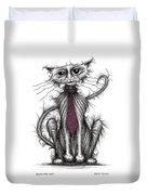 Billy The Cat Duvet Cover