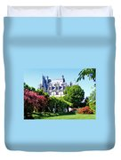Biltmore House And Gardens Duvet Cover