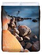 Binalong Bay At Sunrise Duvet Cover