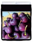 Bing Cherries Duvet Cover