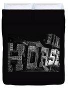 Binion's Horsehoe Duvet Cover