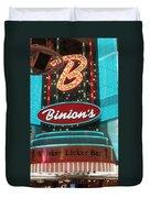 Binions Whiskey Licker Bar Duvet Cover