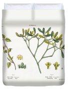 Birch And Mistletoe Duvet Cover