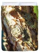 Birch Bark Duvet Cover