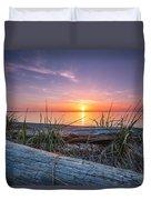 Birch Bay Sunset Duvet Cover
