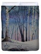 Birch Dawn Duvet Cover