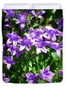 Birch Hybrid Campanula Duvet Cover