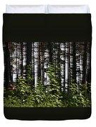 Birch Illusion Duvet Cover