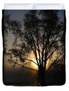 Birch In Silhouette Duvet Cover