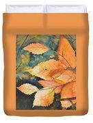 Birch Leaves Duvet Cover