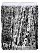 Birch Sentinels Duvet Cover