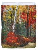 Birch Trail Duvet Cover