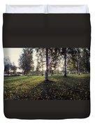 Birch Trees, Imatra, Finland Duvet Cover