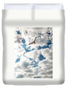 Bird And The Clouds Duvet Cover