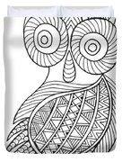Bird Baby Owl Duvet Cover by MGL Meiklejohn Graphics Licensing