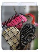Bird Feeder Wp 06 Duvet Cover