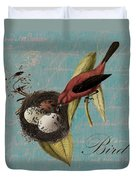 Bird Nest - 02v02t01 Duvet Cover
