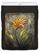 Bird Of Paradise 63 Duvet Cover