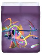 Bird-of-paradise - Abstract Duvet Cover