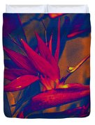 Bird Of Paradise Flower Duvet Cover