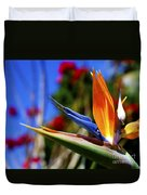 Bird Of Paradise Open For All To See Duvet Cover