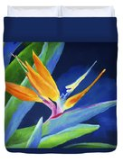 Bird Of Paradise Duvet Cover by Stephen Anderson