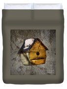 Birdhouse Duvet Cover