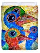 Birds 736 - Marucii Duvet Cover