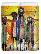 Birds 738 - Marucii Duvet Cover