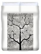 Birds And Trees Duvet Cover