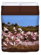 Birds Call To Flight Duvet Cover