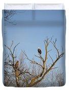 Birds Of Prey II Duvet Cover