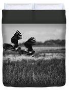 Birds Of The Wetlands V12 Duvet Cover