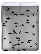 Birds That Knew Duvet Cover