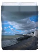 Birling Gap Beach Duvet Cover
