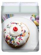 Birthday Party Donut Duvet Cover