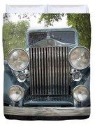 Birthday Rolls-royce Duvet Cover