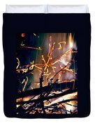 Birthed From Fire Duvet Cover by Rory Sagner