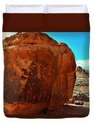 Birthing Rock Duvet Cover