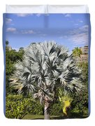 Bismarck Palm  Bismarckia Nobilis Duvet Cover