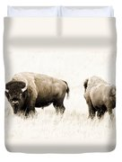 Bison II Duvet Cover