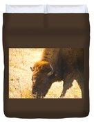 Bison Wander Duvet Cover