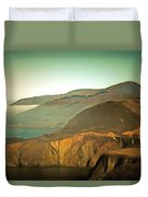 Bixby Bridge Digital Duvet Cover