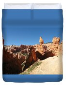 Bizarre Shapes - Bryce Canyon Duvet Cover