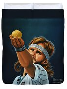 Bjorn Borg Duvet Cover by Paul Meijering
