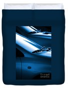 Black And Blue Cars Duvet Cover by Carlos Caetano