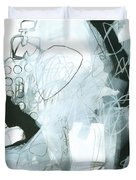 Black And White #1 Duvet Cover