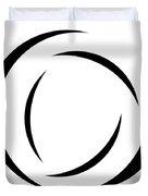 Black And White - 105 Duvet Cover