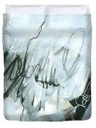 Black And White #5 Duvet Cover